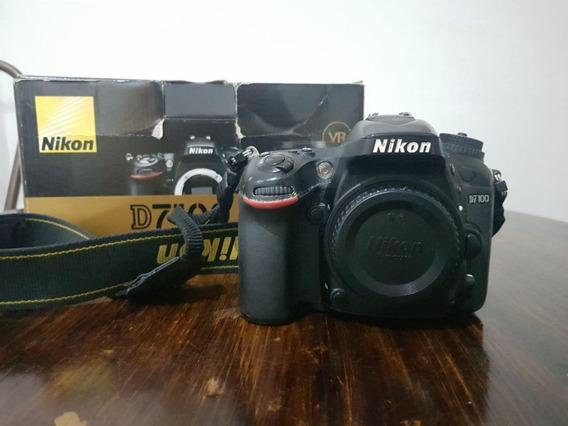 Camêra Nikon D7100 (usada) Com Lente 18-105mm