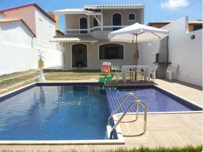 Casa Com 4/4 Rua Com Acesso À Praia Para Alugar Por R$ 4.000/mês - Vilas Do Atlântico - Ca2830
