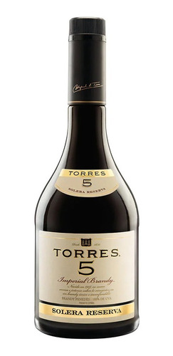 Brandy Torres 5 Botella De 700ml