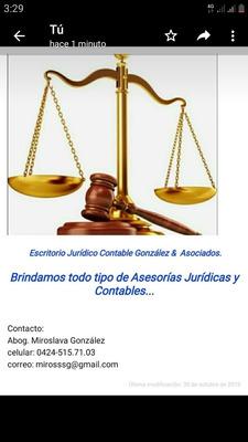 Abogado... Asesorías Jurídicas & Contables