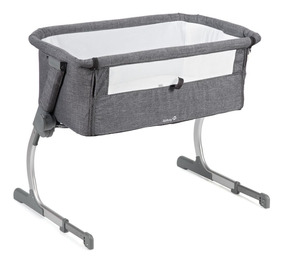 Berço Portátil Side By Side Safety 1st Cinza Gray