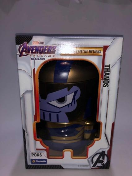 Avengers Endgame Poks Metálicos Thanos Cinepolis