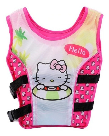 Chaleco Salvavidas Para Niñas De Hello Kitty