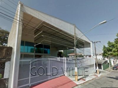Ga1913 - Alugar Ou Vender Galpão Na Vila Jaguara Com 450 Metros De Terreno, 350 Metros De Galpão, 300 Metros De Área Fabril - Ga1913 - 33873415