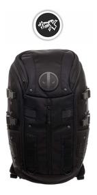 Mochila Deadpool Tactical Black Marvel Backpack Bioworld