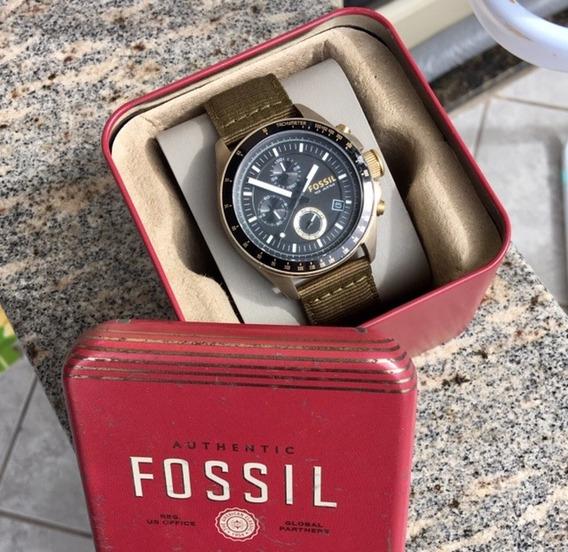 Relógio Fossil Cronografico 5017 Original N/citizen