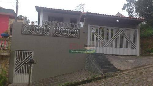 Imagem 1 de 19 de Casa Com 4 Dormitórios À Venda Por R$ 583.000 - Santana - Ribeirão Pires/sp - Ca5882