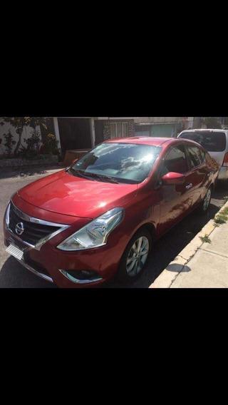 Nissan Versa Estandar Electrico 2017