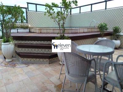 Apartamento Cobertura Para Locação Itaigara, Salvador 4 Dormitórios, 1 Sala, 1 Banheiro, 3 Vagas, 330 M². - Tjl358 - 4733065
