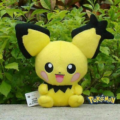 Pelúcia Pokémon Pichu 19 Cm Importado