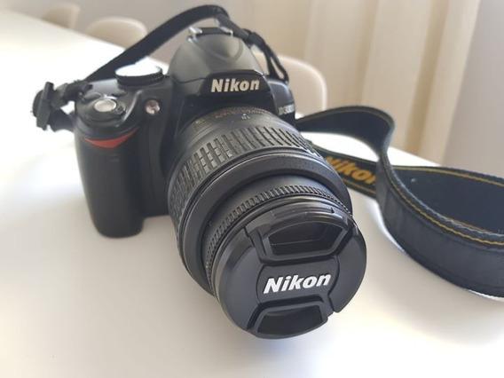 Camera Nikon D3000+ Com Lente 18-55mm