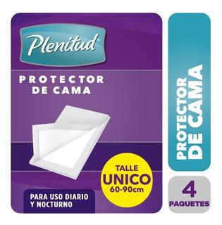 Plenitud Protector De Cama X 8 Unidades Pack X 4
