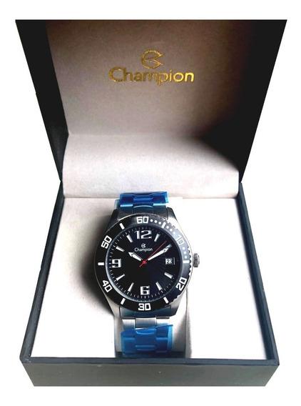 Relógio Masculino Champion Ca31202tt Super Promoção