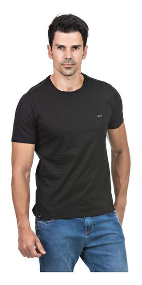 Kit 03 Camiseta Masculina Hifen Básica Camisa Algodão 30.1