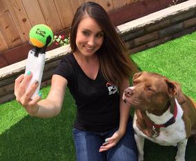 Accesorio Foto Selfie Stick Perro Gato Mascota Pelota