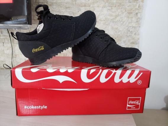 Tenis Feminino Coca Cola - Novo