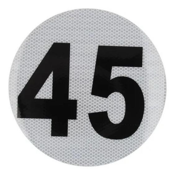 Logo Calco Velocidad Maxima 45 Homologado Vtv Escolares