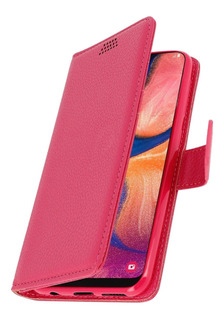 Funda Huawei P20 Lite Eco Cuero Tarjetero + Vidrio Templado