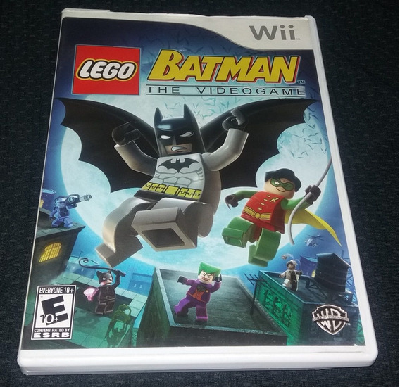 Lego Batman The Videogame - 100% Original Nintendo Wii