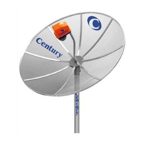 Kit Antena Century 1.70mt Multiponto Com Amplificador