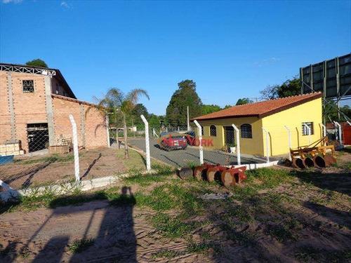 Galpão Comercial À Venda, Loteamento Recreio Campestre, São Carlos. - Ga0025