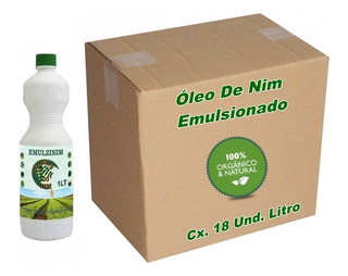 Oleo Neem Nim Emulsionado Plantas 18 Litros
