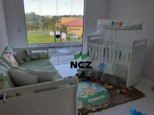 Casa Com 3 Dormitórios À Venda, 304 M² Por R$ 1.800.000,00 - Alphaville Litoral Norte 3 - Camaçari/ba - Ca3427