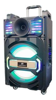Parlante Bafle Con Micr Inalámbrico Karaoke Bluetooth Usb Sd