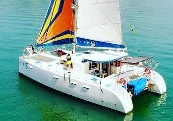 Alugo Catamaran Veleiro Quase 50 Pés (catamarã Charter)