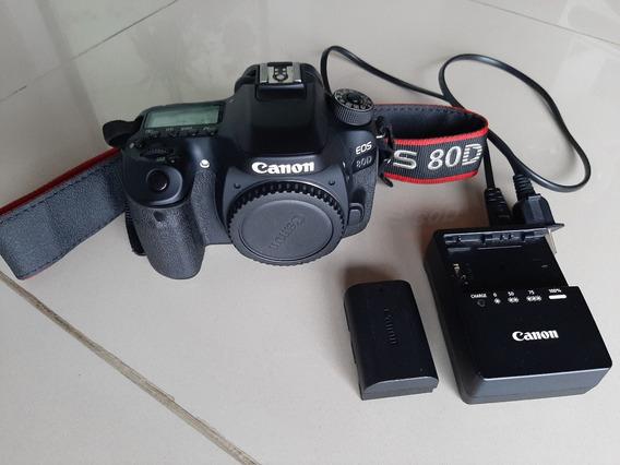 Câmera Canon 80d - Somente O Corpo