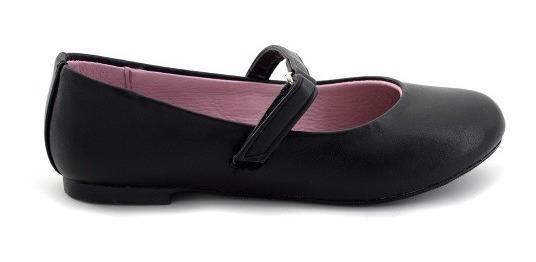 Zapato Escolar Tropicana Para Niña 97121 Negro [tro782]