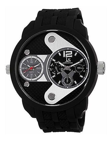 Joshua & Sons Js52 - Reloj De Cuarzo Suizo Con Diseño Único