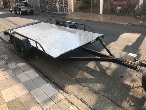 Carreta Para Transportar Carro - Carreta 02 Eixos Freio 0km