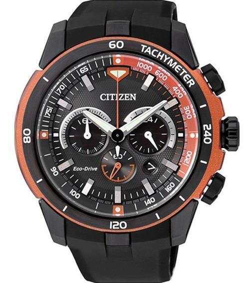 Relógio Citizen Masculino Eco Drive Cronógrafo Ca4154-07e