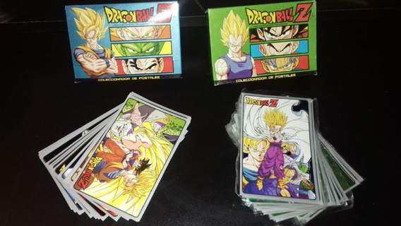 Postales Coleccionables De Dragon Ball Z