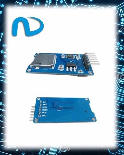 Módulo Cartão Micro Sd Arduino/pic Leitor Gravador Promoção