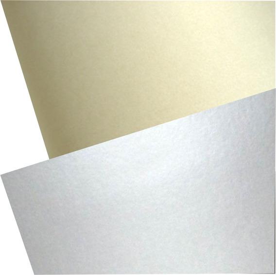 Cartulina Escolar Muresco 45 X 63cm Color Oro X Unidad
