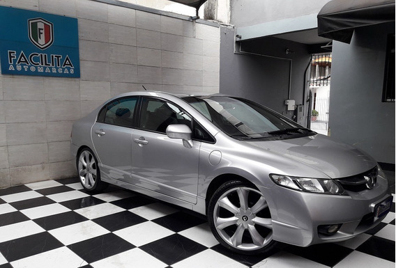 Honda Civic 1.8 Lxs Flex 4p Manual Com Kit Multimidia