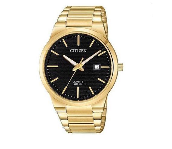 Relógio Citizen Masculino Ref: Tz20831u Social Dourado