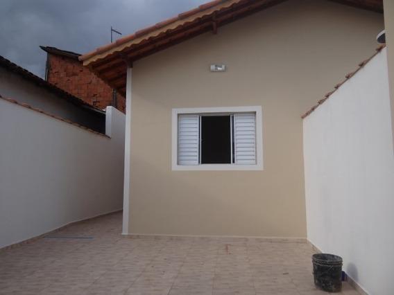 Linda Casa À Venda Em Mongaguá, Vila Atlântica Ref. 6570 E
