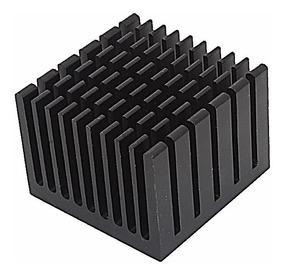 Chipcooler Dissipador Calor 4cmx4cmx3cmmm Aluminio Simples
