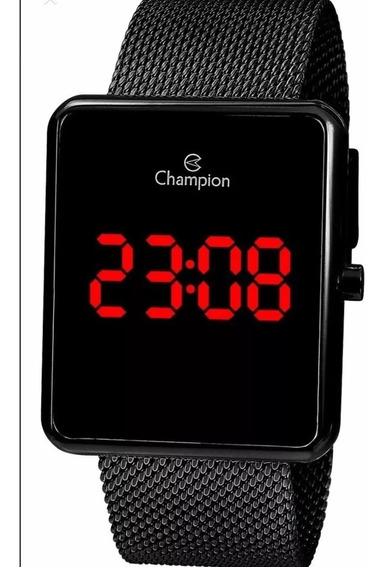 Relógio Champion Feminino Digital Quadrado Lançamento