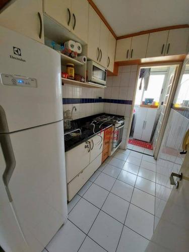 Apartamento Com 2 Dormitórios À Venda, 52 M² Por R$ 295.000,00 - Vila Mangalot - São Paulo/sp - Ap0798