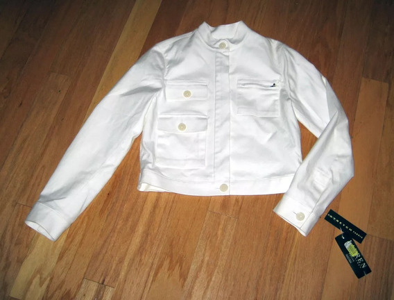 Casaca Ralph Lauren Hueso Chaqueta Jacket Dama M Stock