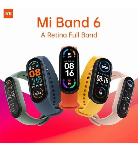 Xiaomi Mi Band 6 Originales Gratis 2 Correas Versio Globlal