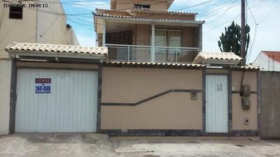 Casa Para Venda Em Cabo Frio, Palmeiras, 4 Dormitórios, 1 Suíte, 3 Banheiros, 5 Vagas - Ci 168