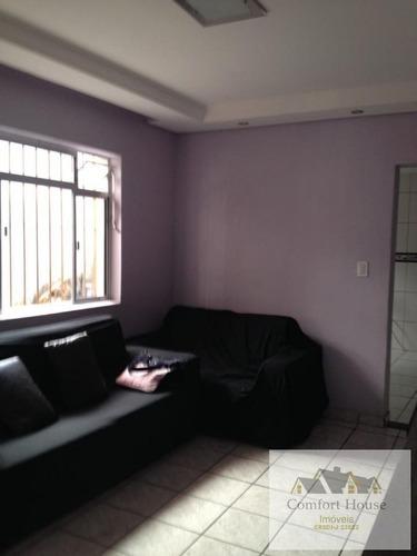 Casa Para Venda Em Santo André, Jardim Guarará, 2 Dormitórios, 1 Banheiro, 2 Vagas - Ca0005_co_1-1927912