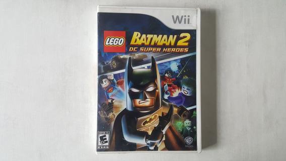 Jogo Lego Batman 2 Dc Super Heroes - Nintendo Wii - Original