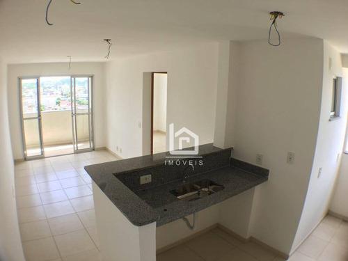 Imagem 1 de 20 de Centro De Vila Velha: 2 Quartos Novinho E Com Lazer Completo - Imperdível! - Ap0241