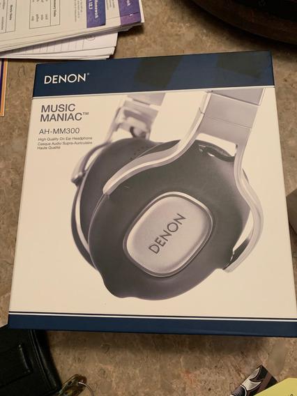 Fones Denon Ah Mm300 (music Mania) Lacrado